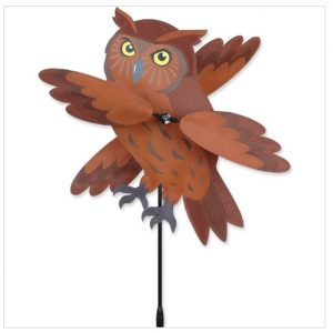 17 In. WhirliGig Spinner – Brown Owl