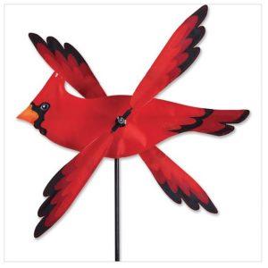 17 In. WhirliGig Spinner – Cardinal