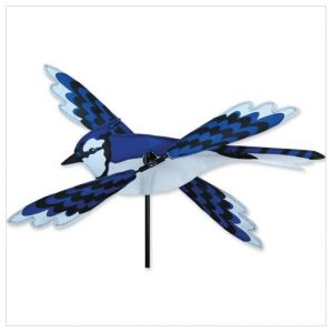 18 In. WhirliGig Spinner – Blue Jay