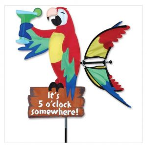 20 In. Island Parrot Spinner