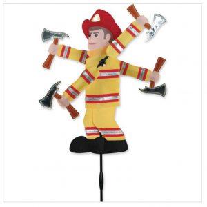 20 In. WhirliGig Spinner – Fireman
