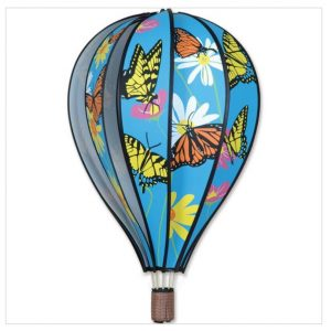 22 In. Hot Air Balloon – Butterflies