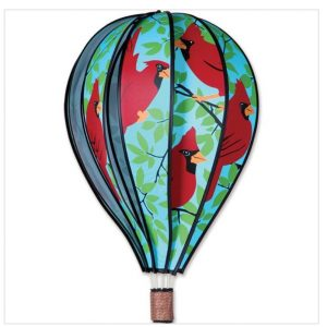 22 In. Hot Air Balloon – Cardinals