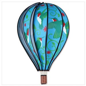 22 In. Hot Air Balloon – Hummingbirds