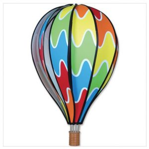 22 In. Hot Air Balloon – Rainbow