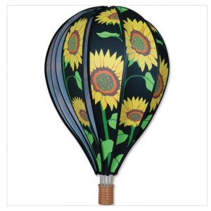 22 In. Hot Air Balloon – Sunflowers