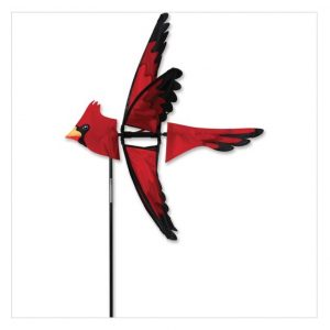 23 In. North American Cardinal Spinner