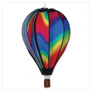 26 In. Hot Air Balloon – Wavy Gradient