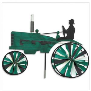 29 In. Old Tractor Spinner – Green