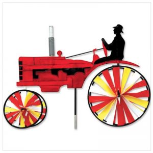 29 In. Old Tractor Spinner – Red
