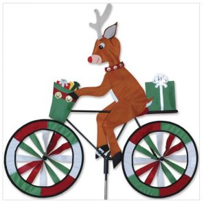 30 In. Bike Spinner – Reindeer
