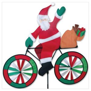 30 In. Bike Spinner – Santa