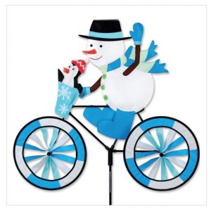30 In. Bike Spinner – Snowman