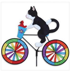 30 In. Bike Spinner – Tuxedo Cat