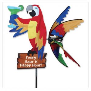 33 In. Island Parrot Spinner – Happy Hour