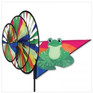 Triple Spinner – Green Frog
