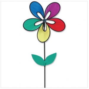Whirly Wing Flower Spinner – Rainbow