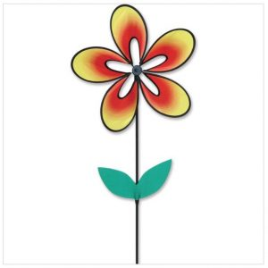 Whirly Wing Flower Spinner – Warm